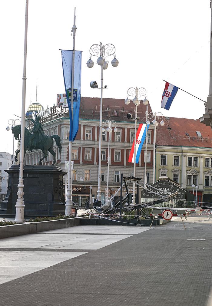 koronavirus potres Zagreb fotke nakon potresa