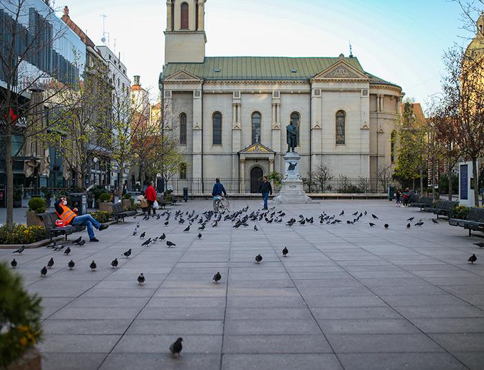 koronavirus potres Zagreb fotke fotografije nakon potresa zagrebački cvjetni trg špica