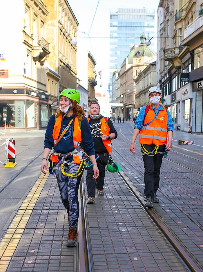 koronavirus potres Zagreb fotke fotografije nakon potresa zagrebački alpinisti