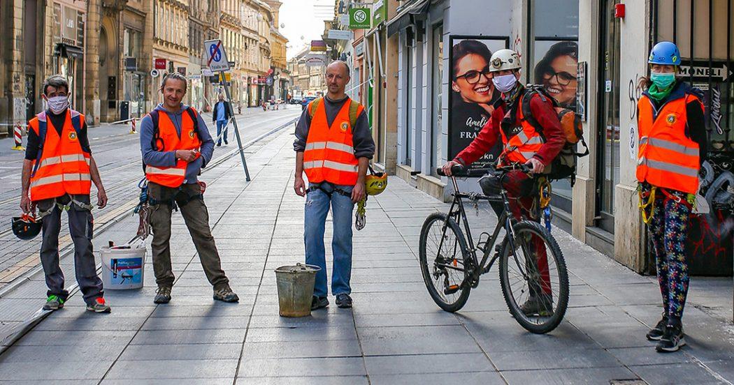 Potres i korona: ovako sada izgleda Zagreb