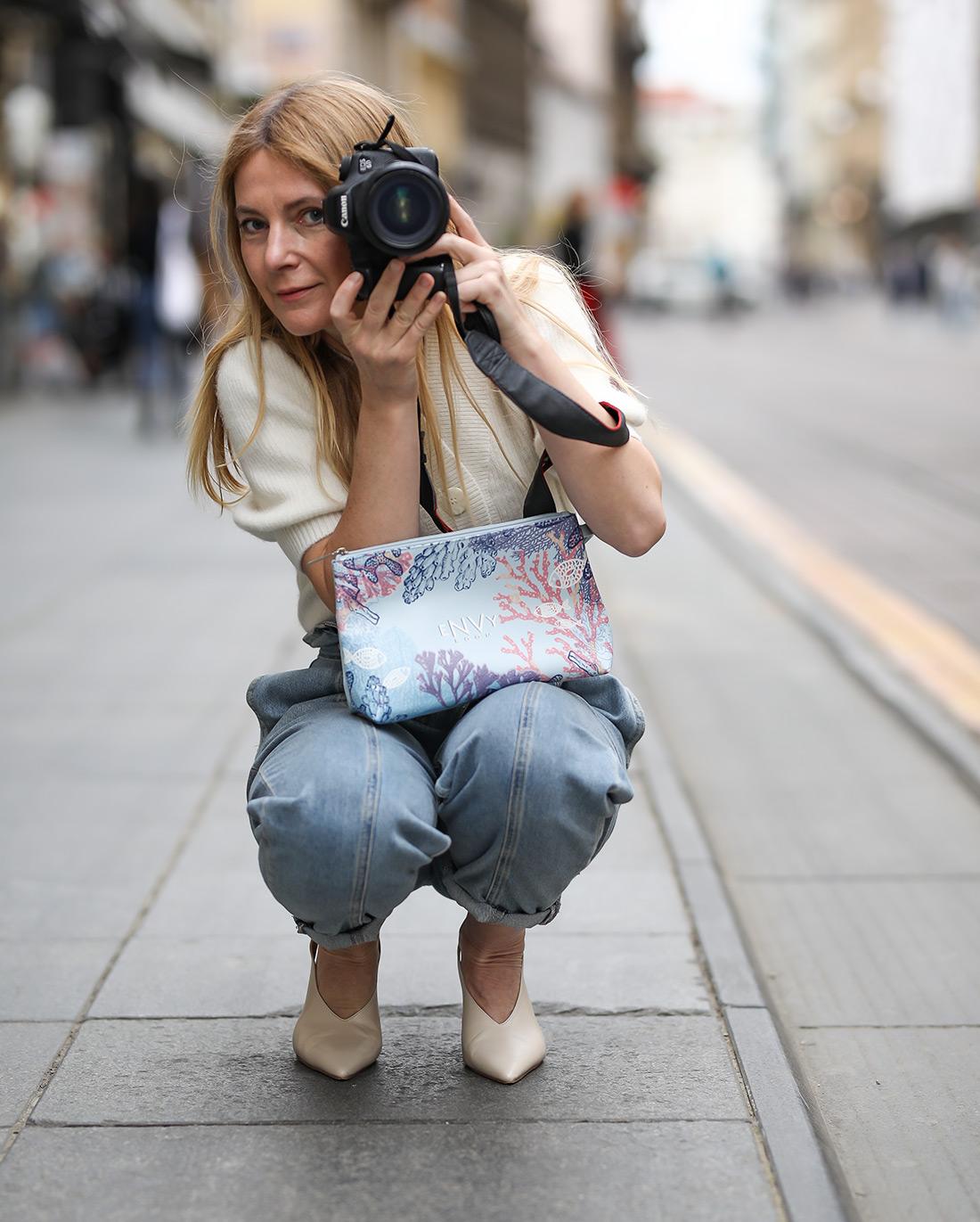 Slavica Josipović fotografkinja Style Zagreb Vichy ljetna dizajnerska torba eNVy room