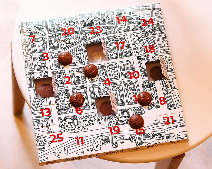 adventski kalendat mojati narukvice melt čokolade