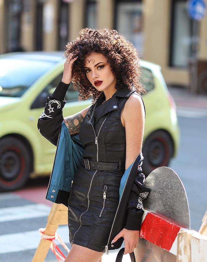 street style zagreb mimiermakeup tik tok Youtuberica Andrea Fabrić instagram dora barker redken kosa foto ana josipović slavica