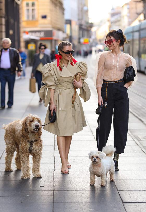 Kreacije Simone Rocha x H&M izazivaju osmijehe i oduševljenje na ulicama Zagreba. Isprobali smo, pogledajte!