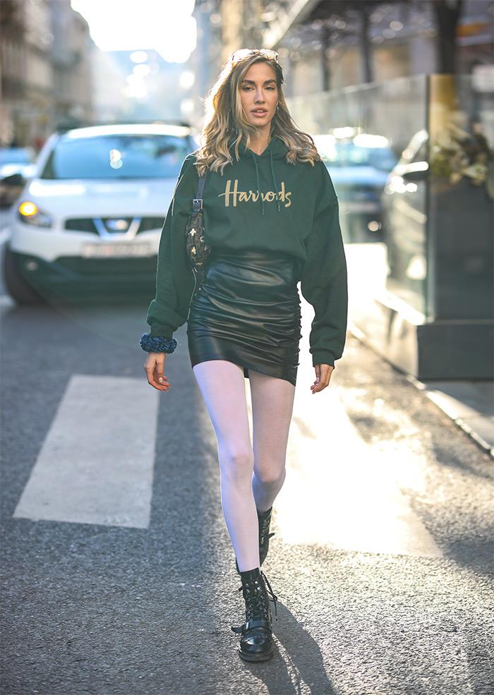 Lućana Mirko foto street style Ana Josipović Slavica U doba popularizacije comfort odjeće u modi, ovakvi komadi postali su dragocjena riznica za slaganje svakodnevnih ženskih stylinga, a žene su u muškoj odjeći na poseban način atraktivne