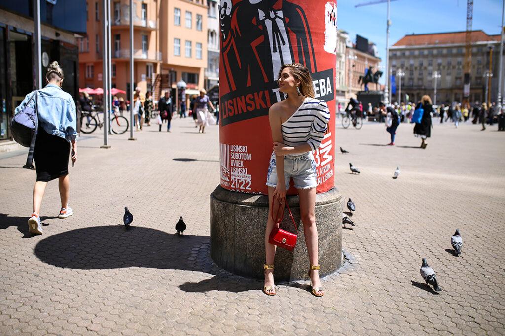 Nabrojali smo sve detalje koji su vam potrebni za predivno dugo ljeto Karla trgovine Twinset broderie anglaise rupičasta haljina stylezagreb Tea Dujmić foto Ana Josipović Slavica