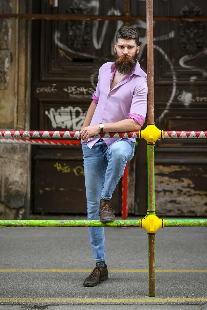 Davor Dmitrović street style zagreb izložba under construction foto ana josipović slavica