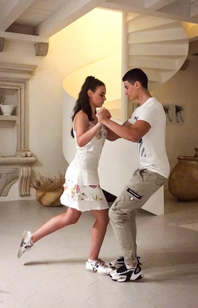 Sestra i brat Martina i Viktor Krivokapić tango plešu od djetinjstva