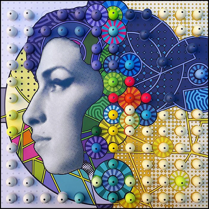 umjetnica Jasmina Krajačić izložba Closeups