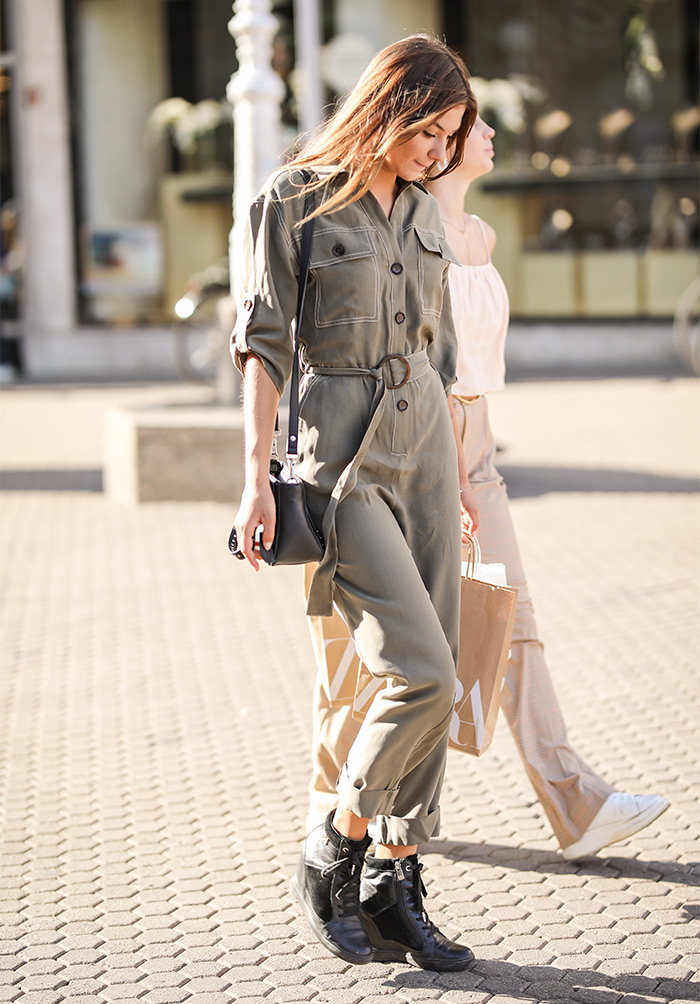 kako nositi safari kombinezon street style moda Zagreb danas foto Ana Josipović